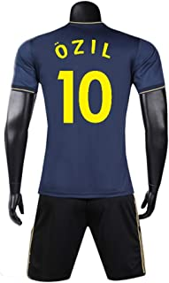 Jersey Football Long-Sleeve Suit Soccer Jersey Set Soccer T-Shirt for Football Sports Fans Jersey for Men and Kids &Mesut Özil-10
