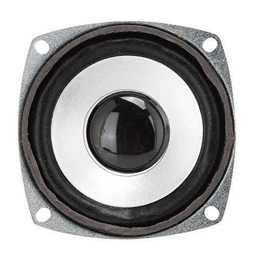 Gedourain Altavoz de Audio, Altavoz magnético Dual de Rango Completo de 3'para teléfono Inteligente para Reproductor de música