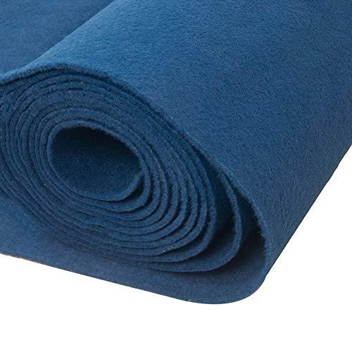 JIAJUAN Tappeto Passatoia Matrimonio Blu Nozze Corridoio Corridore Tessuto Non Tessuto Tappeti Monouso Stuoia per Palcoscenico Esposizione Ufficio Evento (Colore : Blue-2mm, Dimensioni : 1x10m)