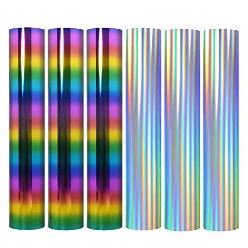 TECKWRAP Precious Metals Metallic Heat Transfer Vinyl Bundle, elastische Folie HTV Vinyl Bundle, zum Aufbügeln auf T-Shirts, Cricut und Silhouette 2 Farben
