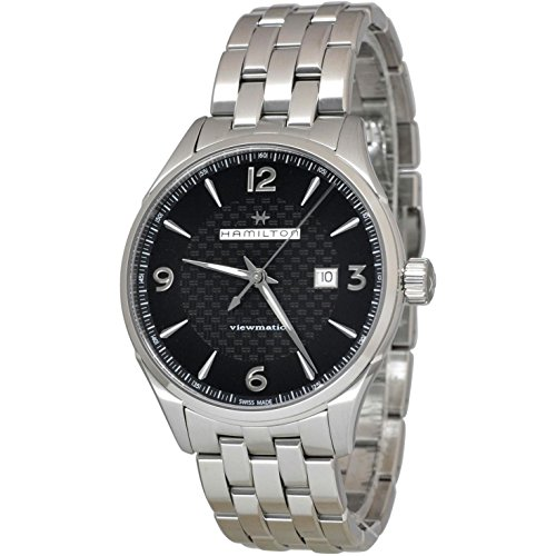 Hamilton Viewmatic Automático Negro Dial Mens Reloj h32755131