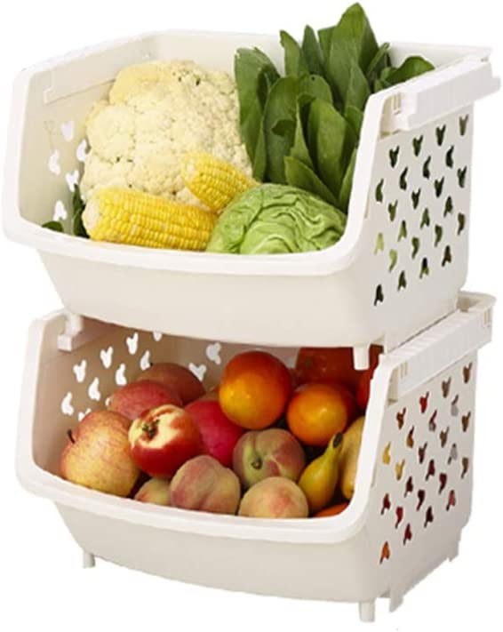 YGH Kitchen 2021 new Storage Rack Shelf Fruit Vegetable Bask and Las Vegas Mall