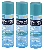 MONISTAT Chafing Relief Powder Gel 1.5 oz (Pack of 3)