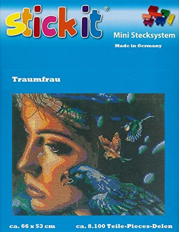 Stickit Mini Stecksystem Traumfrau ca. 8.100 Teile Nr. 41234 B00CRB2HOC | Starke Hitze- und Abnutzungsbeständigkeit