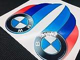 Dreifarbige Aufkleber für helmkompatiblen BMW Motorsport…