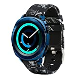 Tkasing Watch 42mm Band, Galaxy Watch Active/Active2(40mm) Band, 20mm Replacement Strap with Quick Release Pin Compatible for Garmin VivoActive 3, Ticwatch E, Amazfit Bip Smart Watch