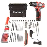 Stalwart 75-PT1003 12V Lithium Ion 75 Pc 2 Speed Drill & Accessory...