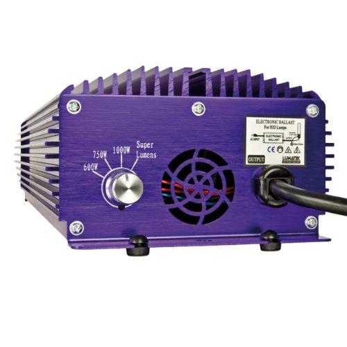 Balastro Electrónico Regulable + Super-Lumens Lumatek 600W/1000W (LK1