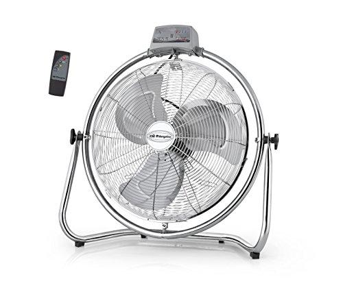 Orbegozo PWM–ventilatore industriale elettrico, oscillante, a 3velocità, con telecomando Potenza 50 W/diametro pale 30 cm argento