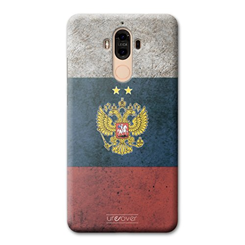 Urcover® Voetbalbeschermhoes compatibel met Huawei Mate 9 I schokbestendige telefoonhoes wereldkampioenschap 2018 [Team Cover] Fanartikel Backcase, Rusland.