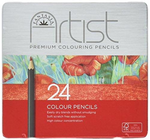 Fantasia Premium Colored Pencil Set 24pc-