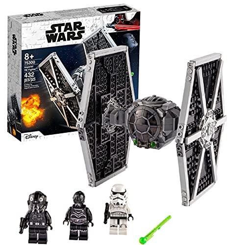 Technic 75300 Star Wars Series Imperial TIE Fighter niños y niñas ensamblados juguetes de bloques de construcción educativos Imperial Fighter