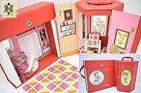 デッドストック 当時物 中嶋製作所 バッグ型 ロコたんハウス 2点セット 赤いバッグ ハウス 古茂田ヒロコ 昭和レトロ M-327G コレクション