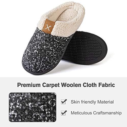UltraIdeas Women's Comfort Memory Foam Slippers