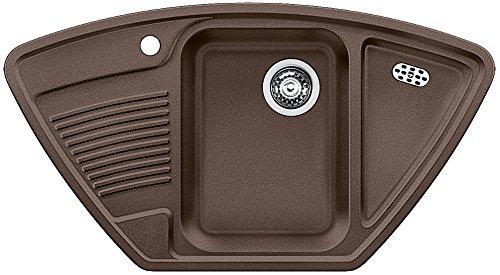 Blanco 521343 Küchenspüle Classic 9 E, Silgranit, Cafe