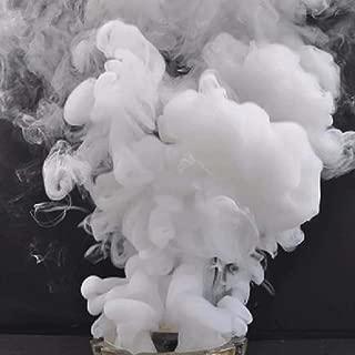 Enjoyer Color Magic Smoke Tricks Pyrotechnics Stage Background Studio Photography Prop Smoke Cake Magic Fun Toy (White)