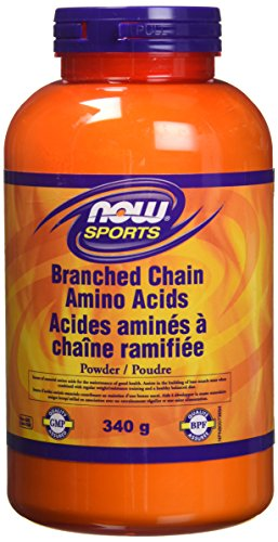 NOW Branched Chain Amino Powder, Pure, 340 g