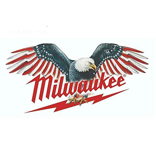 13 cm x 7 cm voor Milwaukee-gereedschappen zelfklevend grappig auto-krasmateriaal Occlusion geschikt voor Van RV SUV