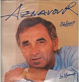 NEM47702 LP Aznavour Italiano La Mamma VINYL