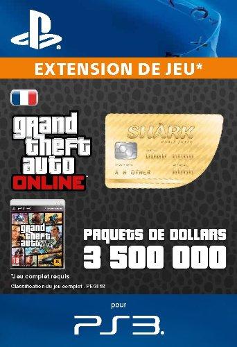 Paquets de dollars Whale Shark [Code Jeu PSN PS3 - Compte français]