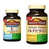 【セット買い】大塚製薬 ネイチャーメイド E400 100粒 & ネイチャーメイド マルチビタミン 100粒