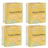 ナチュラムーン 生理 用 オーガニック ナプキン (羽なし) 24個入 /  Natural Moon Organic Menstrual Pad (without wings) 24 pieces