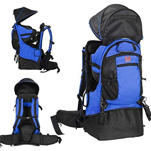 Lixada Baby Backpack, Sac à Dos pour Enfant, avec Porte Pare-Soleil de Randonnée pour Enfant en Bas Age