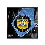 Maddox Detail - Finish Microfiber - Paño de Microfibra 40 x 40 cm. Robusta y sin Pelusa, de Dos Lados con Bordes Libres de Costuras.