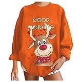 Womens Christmas Oversized Sweatshirts...