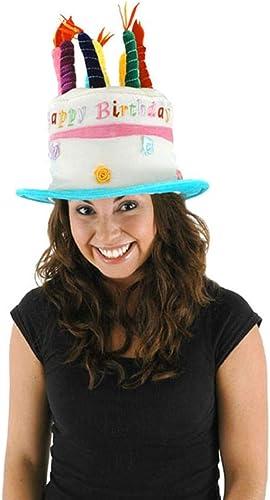 Happy Birthday Party Cake Adult Costume Hat One Größe
