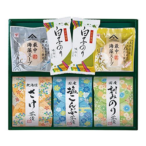 Shirakonori(白子のり) 茶漬 味之庵〜のど黒最中スープ付〜(2663-30)