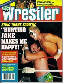 The Wrestler Magazine : Sting Turns Sadistic -