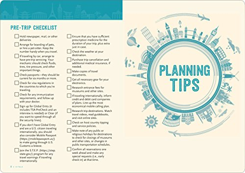 Travel Checklist Journal (Travel Planner Journal) - 511f9UviudL