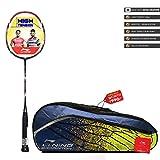 Li-Ning SS-20 G4 Strung Badminton Racquet ( BLACK/ORANGE , S2 , 85-87 grams , 28-30 lbs )