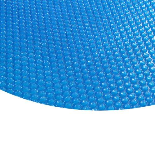 Zelsius - Runde Solarfolie Poolheizung Solarplane, blau - 400µ - 3,6 Meter Durchmesser