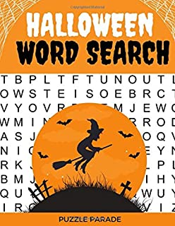 Halloween Word Search: Large Print Word Search Book For Adults