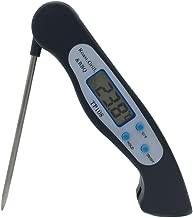 nero Termometro per la carne Termometro da cucina con apribottiglie Digital Instant Read Termometro per alimenti con sonda pieghevole per carne Zucchero di tacchino con marmellata di acqua e latte