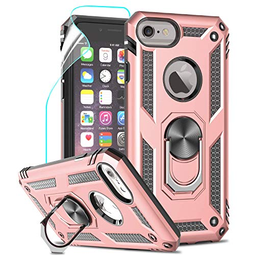 LeYi for iPhone SE 2020 Case,iPhone 7/8 Case,iPhone 6 / 6S Case with Ring...