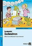 Lernkartei: Sachrechnen: Differenzierte Materialien für den Unterricht (2. und 3. Klasse) (Bergedorfer Lernkartei)