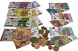EURO-Spielgeldsatz, 22 Münzen und 22 Scheine