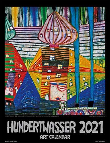 Hundertwasser Art Calendar 2021