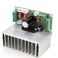 パワーアンプモジュール、XH-M231カーアンプモジュール、4チャンネルTDA7388AMPボードDC12V 4 x 41Wヒートシンク付き、自動車用ステレオスピーカーアンプボード