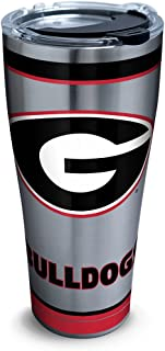 Tervis Georgia Bulldogs Tradition Stainless Steel Tumbler With Lid, 30 oz, Silver