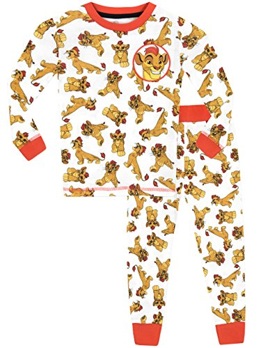 Disney Jungen Die Garde der Löwen Lion Guard Kion Schlafanzug Slim Fit 116