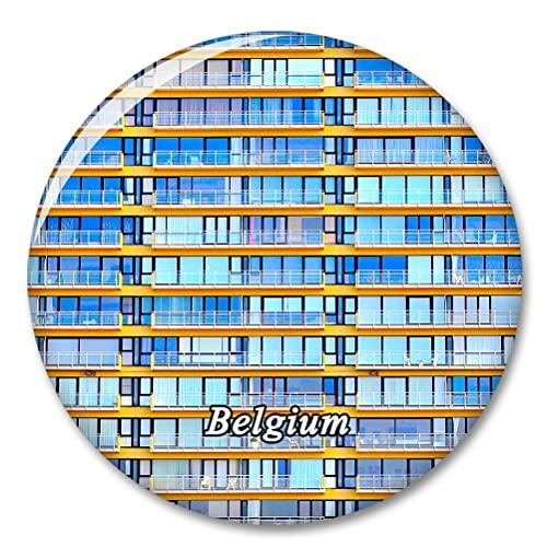 Belgien Oostende Kühlschrank Magnete Dekorative Magnet Flaschenöffner Tourist City Travel Souvenir Collection Geschenk Starker Kühlschrank Aufkleber