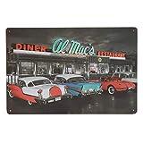 Sdbey Blechschilder Vintage Plaque Poster Wand Dekor Retro