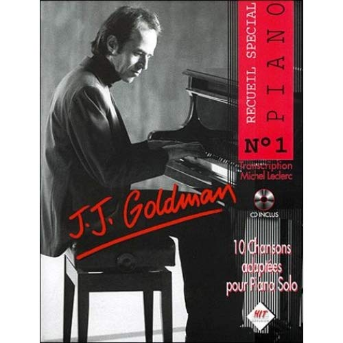 Jj Goldman Piano N.1+CD