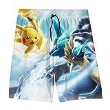 Teenager Swim Trunks Po-ke-mon Beach Pants Quick Dry Board Shorts Bathing Suit