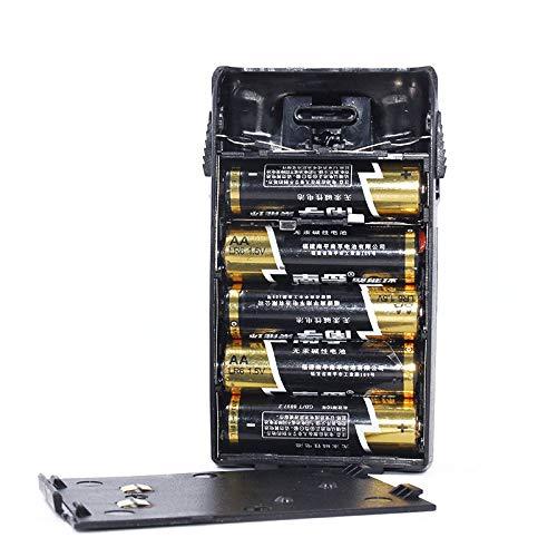 Carcasa de batería recargable y carcasa para Wouxun KG-UVD1P KG-UV6D kg-UV5D KG-UV3D KG-669PLUS