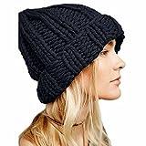 2019 Nuovo Le Donne mantengono Caldo i Cappelli delle Cuffie di Lana lavorate a Maglia By WUDUBE